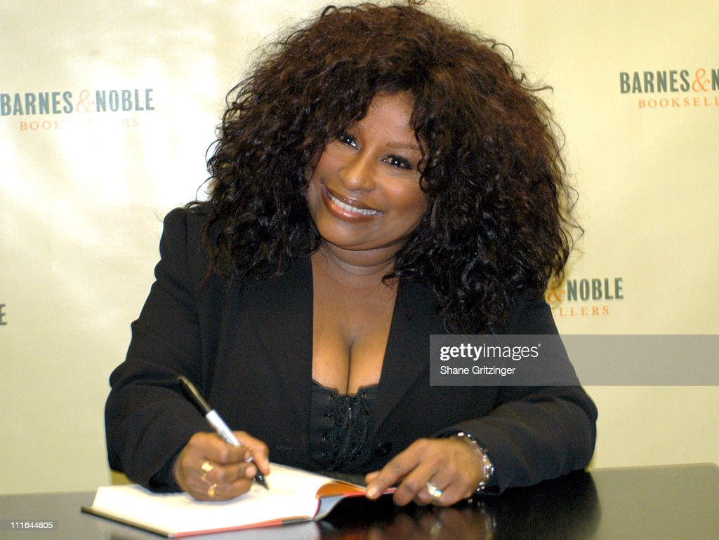 "Chaka Khan Signs Copies of Her New Book ""Through the Fire"""