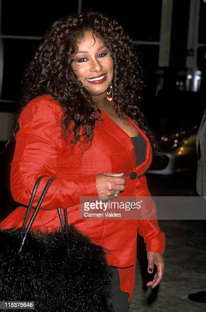 Chaka Khan during Ennis William Cosby Foundation Benefit Gala April 2 2001 at Pier 60 at Chelsea Piers in New York City New York United States