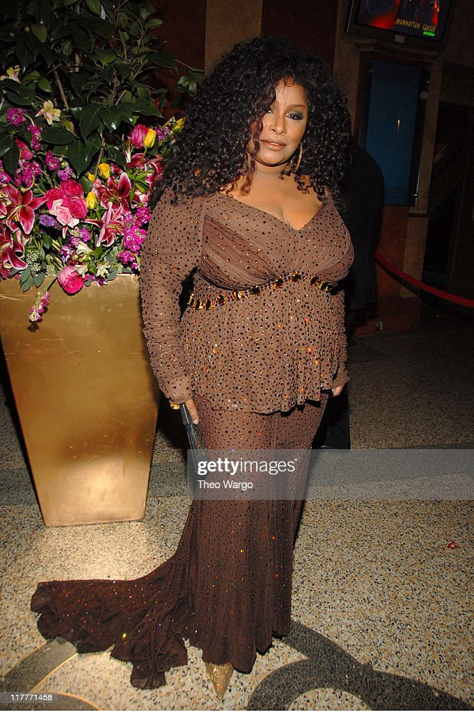 Chaka Khan during The 2006 Women's World Awards - Inside Arrivals at The Hammerstein Ballroom in New York City, New York, United States.
