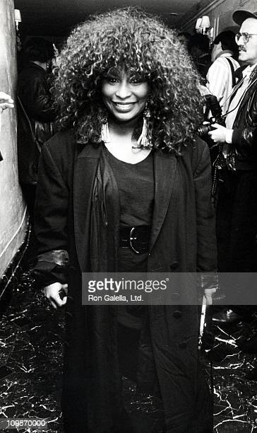 Chaka Khan during The 33rd Annual GRAMMY Awards PreParty at Laura Belle Restaurant at Laura Belle Restaurant in New York City New York United States