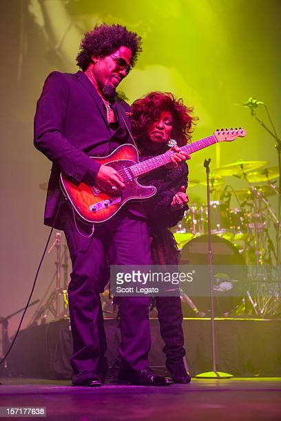 Chaka Khan performs in concert at MotorCity Casino's Sound Board Theater on November 29 2012 in Detroit Michigan