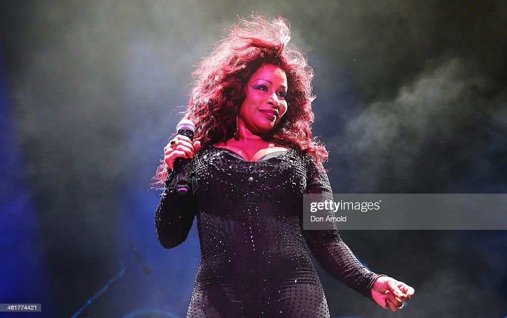 Chaka Khan Performs Live At Sydney Festival 2014 : News Photo