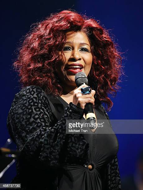 Chaka Khan performs onstage during The Thelonius Monk Jazz Trumpet Competition and All Star Gala concert held at Dolby Theatre on November 9 2014 in...