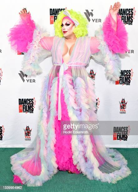 """Chaka Khanvict attends the Closing Night of Dances with Film Festival with premiere of """"Mister Sister"""" at TCL Chinese Theatre on September 12, 2021..."""