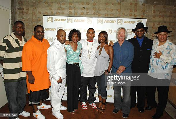 Chaka Zulu Dave Jam Hall Teddy Riley Jeanie Weems Ludacris Kandi Burruss Todd Brabec Jimmy Jam and Narada Michael Walden