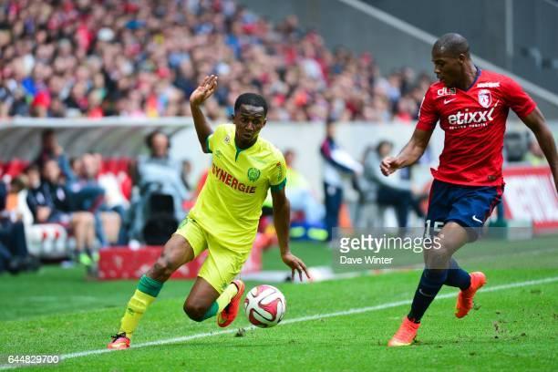 Chaker ALHADHUR / Djibril SIDIBE Lille / Nantes 5eme journee Ligue 1 Photo Dave Winter / Icon Sport