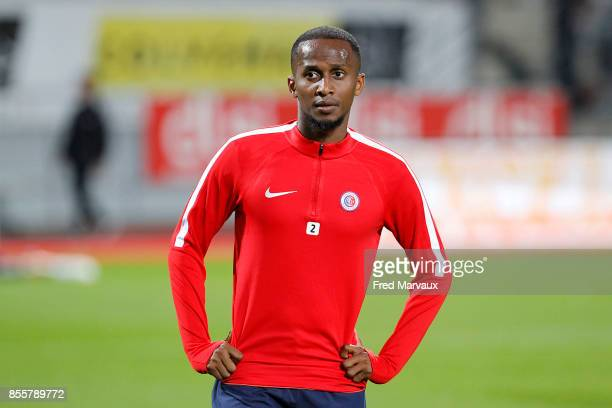 Chaker Alhadhur of Chateauroux during the Ligue 2 match between As Nancy Lorraine and Chateauroux on September 29 2017 in Nancy France
