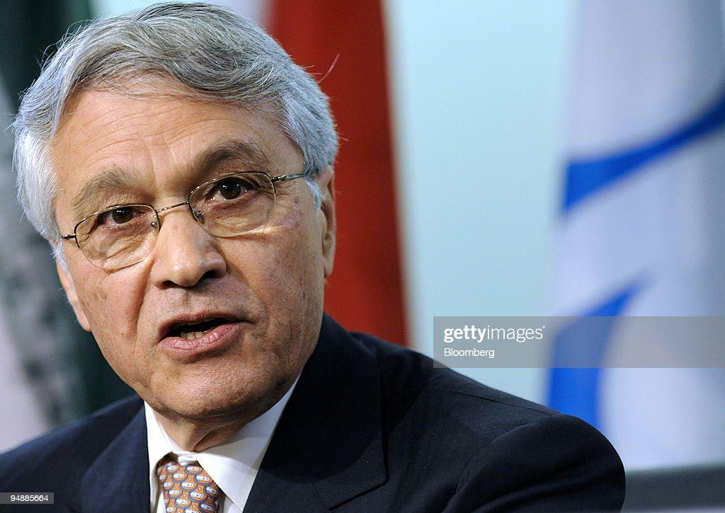 Chakib Khelil, the Organization of Petroleum Exporting Count : Photo d'actualité