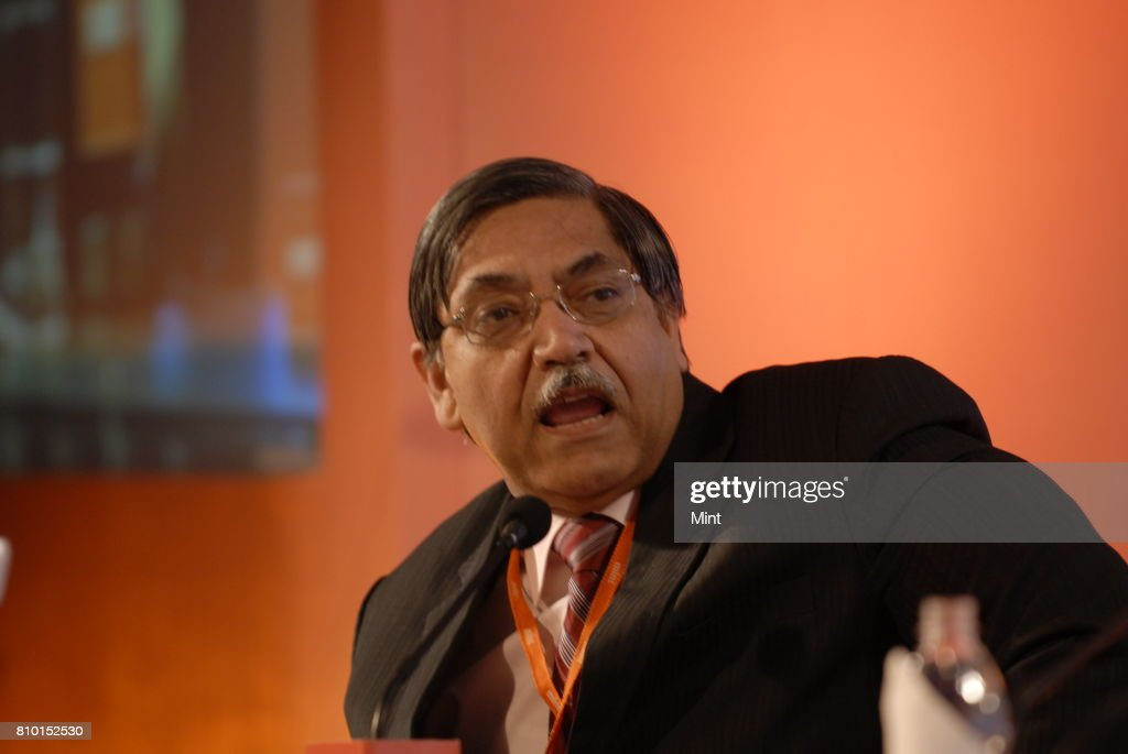 K C Chakrabarthy CMD of Punjab National Bank speaks during the MINT Clarity through Debate Conclave in Mumbai