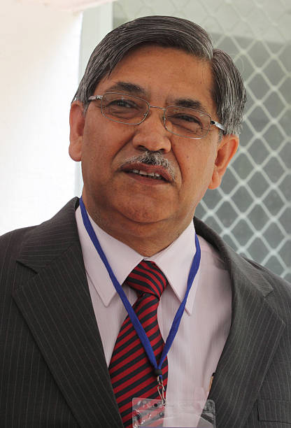 C Chakrabarty chairman and managing director of Punjab National Bank Ltd attends a meeting of publicsector bank chief executives and government...