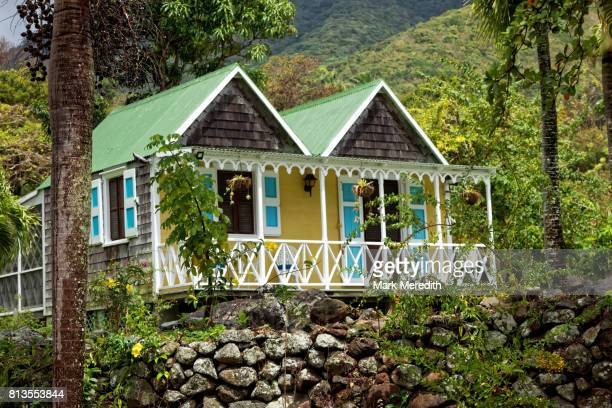 Chalet at the historic Hermitage Hotel and cottages in Nevis