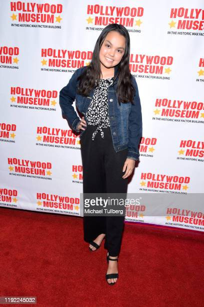 Chalet Lizette Brannan attends Hollywood Museum's Back To The Future Trilogy The Exhibit at The Hollywood Museum on December 05 2019 in Hollywood...