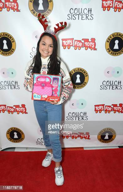 Chalet Lizette Brannan attends The Couch Sisters 1st Annual Toys For Tots Toy Drive held onNovember 20 2019 in Glendale California
