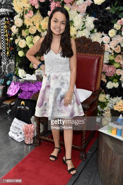 Chalet Lizette Brannan attends the Launch Party For Rockstar Kids Funky Trendy Kids Wear on December 14 2019 in Beverly Hills California