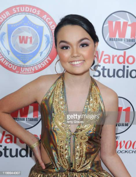 Chalet Lizette Brannan attends the Wardour Studios And Samira's Network Hollywood Stars Oscars Luxury Viewing Gala 2020 at Universal Hilton Hotel on...