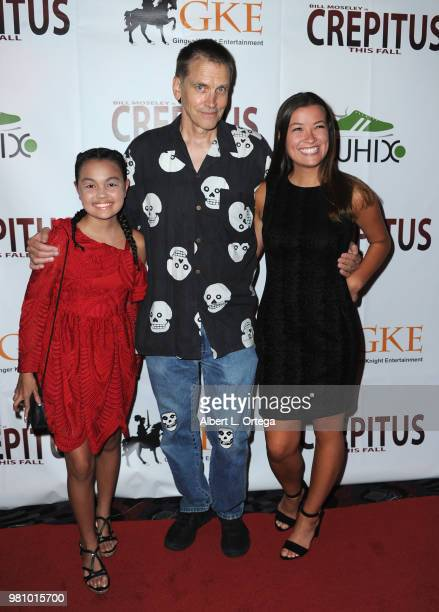 Chalet Lizette Brannan Bill Moseley and Caitlin Williams arrive for the Premiere Of Crepitus held at Los Feliz Theatre on June 21 2018 in Los Angeles...