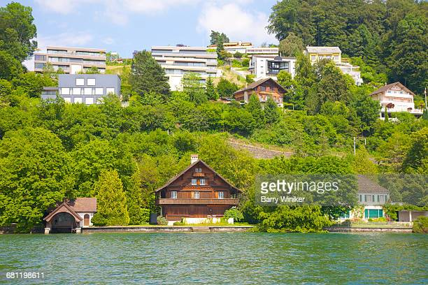 Chalet on shore of Lake Lucerne near Seeburg