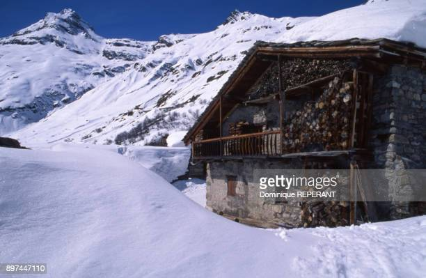 Chalet traditionnel de BonnevalsurArc en Savoie France
