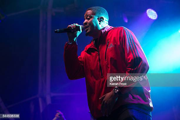 Chali 2na of Jurassic 5 performs at CastlePalooza at Charville Castle on July 2, 2016 in Tullamore, Ireland.