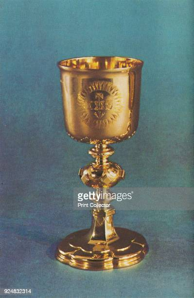 'Chalice 1664' 1953 The piece is part of the Royal Collection at the Tower of London From The Crown Jewels by Martin Holmes FSA [Her Majesty's...
