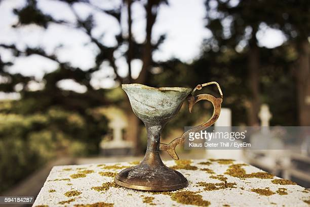 Chalice On Retaining Wall