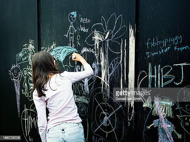 Chalk Board Doodling
