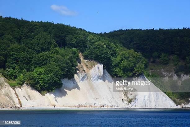 Chalk cliffs, Nationalpark Jasmund National Park, Ruegen, Mecklenburg-Western Pomerania, Germany, Europe