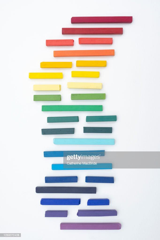 Chalk Pastel Abstract : Stock Photo