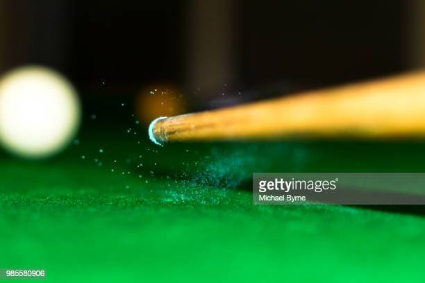 chalk - snooker stock pictures, royalty-free photos & images
