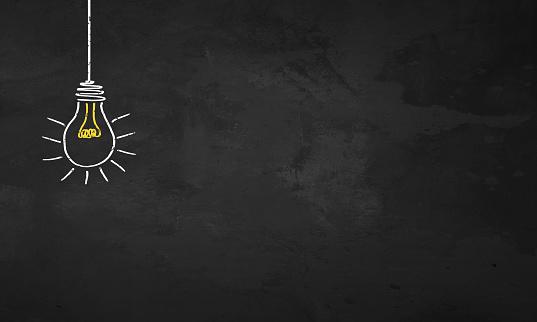 Chalkboard Light Bulb 1132845014