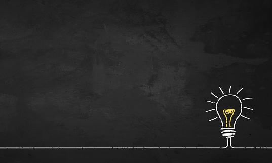 Chalkboard Light Bulb 1132845036