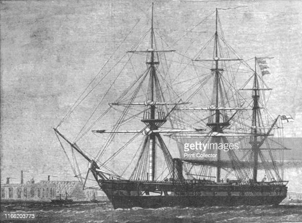 H M S 'Challenger' commissioned for her four years' cruise on Deep Sea Exploration 1872' 'Challenger' a steamassisted warship of the Royal Navy was...
