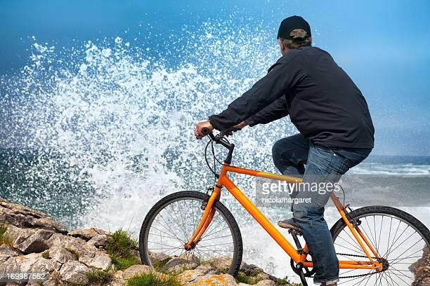 Challenging coastal ride