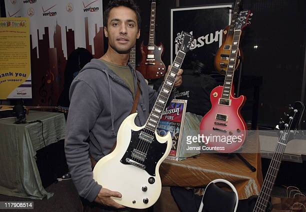 Chamar Del Rea at the Gibson Guitar Gift Station during The 7th Annual Latin GRAMMY Awards - Backstage Lounge by Distinctive Assets - Day 2 at...