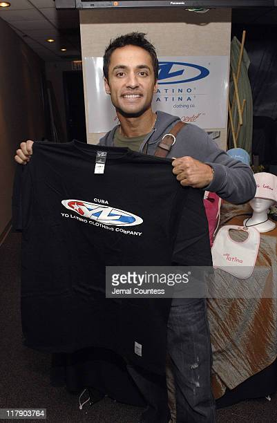 Chamar Del Rea at the Yo Latino Gift Station during The 7th Annual Latin GRAMMY Awards - Backstage Lounge by Distinctive Assets - Day 2 at Madison...