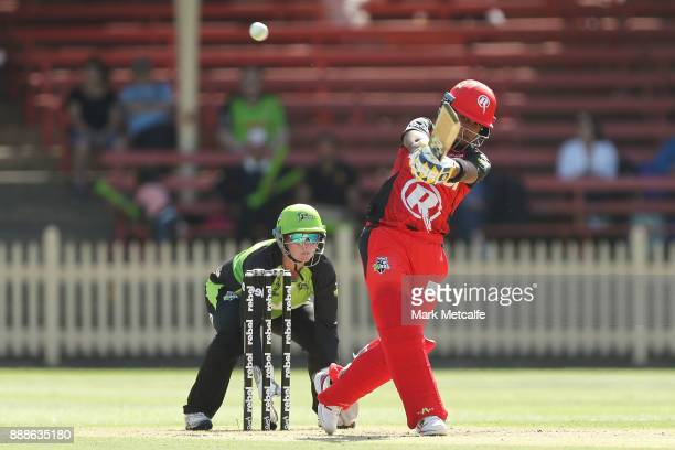 Chamari Atapattu of the Renegades bats during the Women's Big Bash League WBBL match between the Melbourne Renegades and the Sydney Thunder at North...