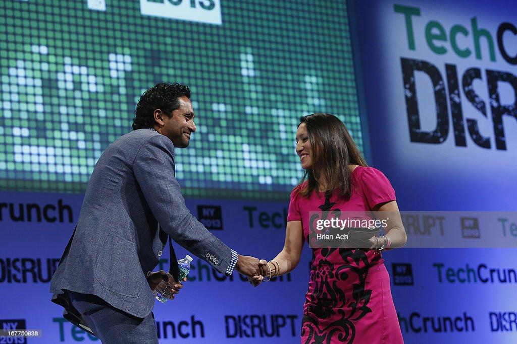 TechCrunch Disrupt NY 2013 - Day 1 : News Photo