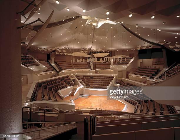 Chamber Music Hall Berlin Germany Architect Hans Scharoun And Edgar Wisniewski Chamber Music Hall Interior