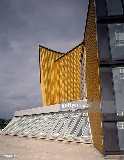 Chamber Music Hall Berlin Germany Architect Hans Scharoun And Edgar Wisniewski Chamber Music Hall Exterior