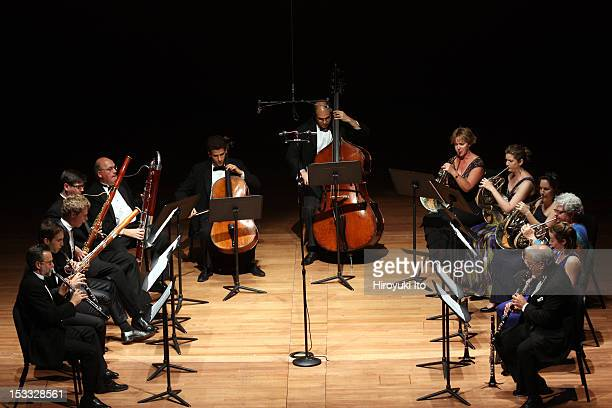 Chamber Music Society performing at the opening night concert at Alice Tully Hall on Monday night, September 24, 2012.This image:Chamber Music...
