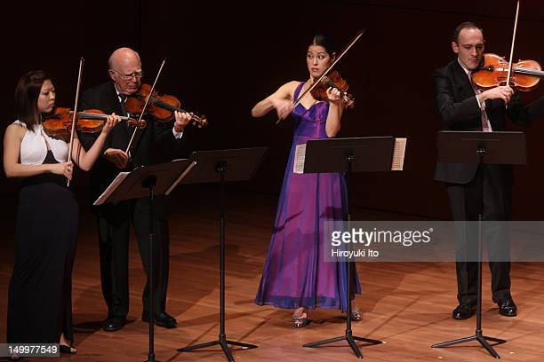 Chamber Music Society performing Bach's Brandenburg Concertos at Alice Tully Hall on Sunday night December 19 2010This imageFrom left Amy Lee Joseph...