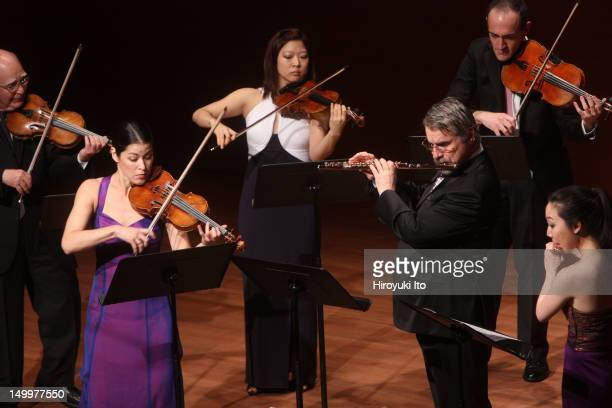 Chamber Music Society performing Bach's Brandenburg Concertos at Alice Tully Hall on Sunday night December 19 2010This imageFrom left Joseph...