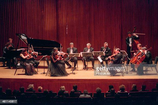 Chamber Music Society performing Copland's 'Appalachian Spring' at Alice Tully Hall on Tuesday night November 14 2000