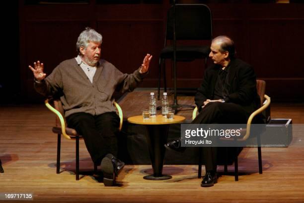 Chamber Music Society performing Harrison Birtwistle's 'Pulse Shadows Meditations on Paul Celan' on Friday night December 3 2004This imageHarrison...