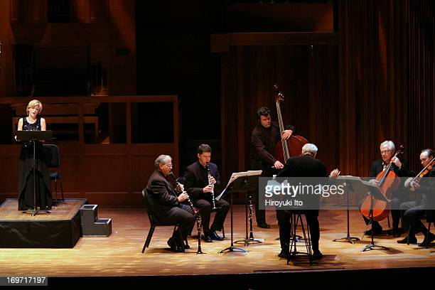 Chamber Music Society performing Harrison Birtwistle's 'Pulse Shadows Meditations on Paul Celan' on Friday night December 3 2004This image from...