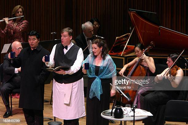 """Chamber Music Society presents """"Baroque Collection"""" at Alice Tully Hall on Friday night, December 8, 2006.This image;Standing from left,..."""