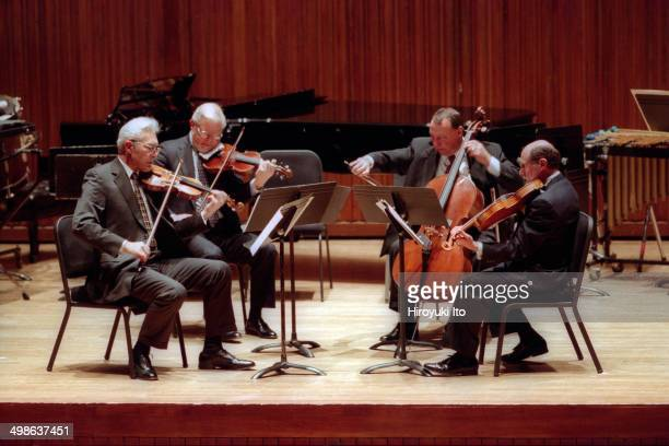 Chamber Music Society presents Sound Investment 35 Years of Premieres at Alice Tully Hall on Tuesday night January 20 2004This imageGuarneri String...