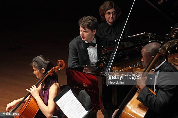 Chamber Music Society's season opening concert at Alice Tully Hall on Wednesday night October 15 2014This imageThe pianist Alessio Bax with Sophie...