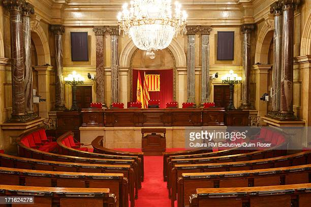 Chamber of Catalonia Parliament Building, Parc de la Ciutadella, Barcelona, Spain