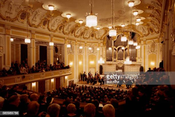Chamber Orchestra of Europe in the Mozarteum